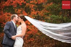 Stunning fall wedding at Lake Raystown Resort in Central Pennsylvania