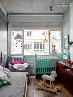 small but cute nursery #decor #quartos #baby