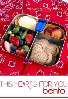 heart pocket sandwiches for bentos