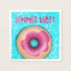 Summer Vibes Napkin