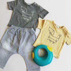 Conjunto para niño bebé de la marca Búho Barcelona y regadera de la marca  Quut. e21e41de6b0