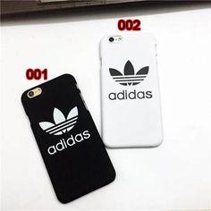 激安adidasiPhone7 ケース カップルペアケース スポーツ風ブランドアディダスiPhone8/6s/7plus ケースカバー 薄い 白 黒 メンズ レディース