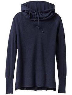 Bhakta Hoodie Sweater - The soft cotton/poly hoodie thats perfect after practice with old school thermal stitching and a cowl-neck hood.