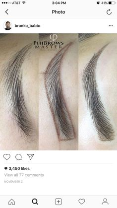For Eyebrow Makeup Mircoblading Eyebrows, Permanent Makeup Eyebrows, Semi Permanent Makeup, Threading Eyebrows, Eyebrow Makeup, Skin Makeup, Threading Salon, Bold Makeup Looks, Henna Brows