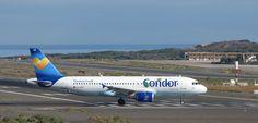 Canary Islands Spotting....Spotter: D-AICF Condor Airbus A320-212 Gran Canaria Spottin...