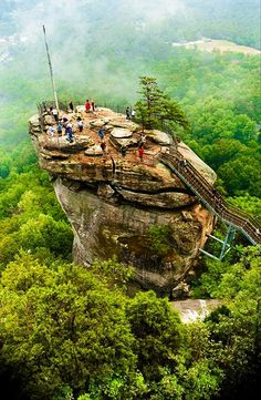 Chimney Rock, North Carolina: