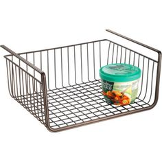 Add extra storage space to a pantry, clothes closet or storage closet with this handyUnder the Shelf Basket. It is constructed of sturdy and durable steel wire and features a tough finish designed for long-lasting use. | eBay!