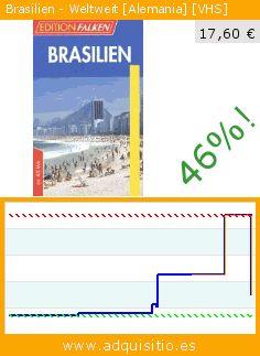 Brasilien - Weltweit [Alemania] [VHS] (Cinta VHS). Baja 46%! Precio actual 17,60 €, el precio anterior fue de 32,48 €. http://www.adquisitio.es/komplettfalken/brasilien-weltweit