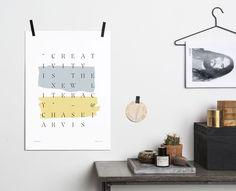 Onehundredforty turns tweets into unique prints