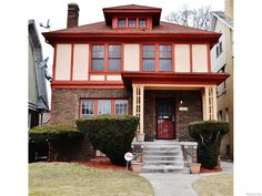 Located on a premiere tree lined street in the Boston Edison/Atkinson Historical District,enjoy this recently remodeled colonial that is exploding with character!The classic entryway opens to the formal living room with a natural fireplace and features classic hand painted gold detailing on ceiling as well as in the dining room.