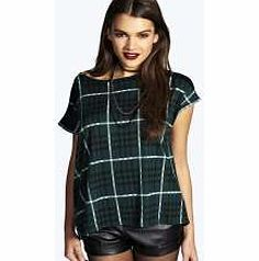 boohoo Tartan Boyfriend Tee - green azz15723 Team toned down trousers with an eyes-on-me evening top for the perfect party pairing. Make the move to midnight dressing with muted tones and icy metallic hues, statement sequins and entrance-making  http://www.comparestoreprices.co.uk/womens-clothes/boohoo-tartan-boyfriend-tee--green-azz15723.asp