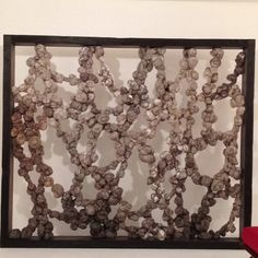 In love with textile/fiber art! This one by fiber artist Dana Barnes