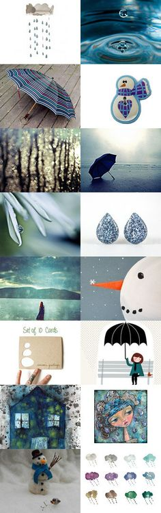 Hide a little snowman by Eva Miller on Etsy--Pinned with TreasuryPin.com