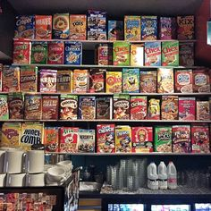 Cereal Killer Cafe in Camden Markets.. unfortunately I didn't eat here, maybe next time...