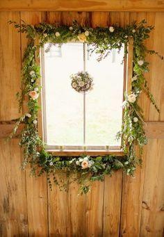 window wreath idea