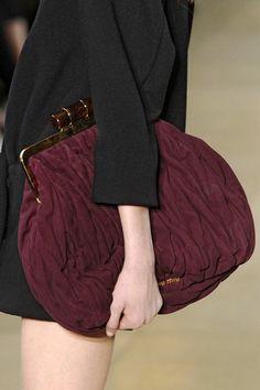 1489f36476c5 Miu Miu Burgudny Bag with Clasp