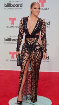 Jennifer Lopez rocks two scorching hot dresses at the Billboard Latin Music Awards