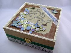 Jewelry Collage Memory Box
