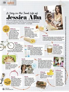 24-Hour Devour: A Day in the Food Life of Jessica Alba via @rachaelraymag