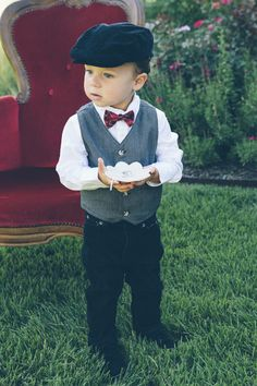 Love Letters Photoshoot for Bliss Bridal Magazine @ Pecan Springs Ranch venue. Photography by Todd White Photography.  Vintage ring bearer fits this little boy just fine.  Such a cutie pie.