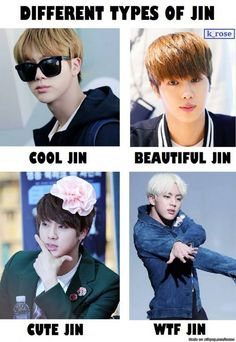 Yeppers. But you forgot sexy asf Jin