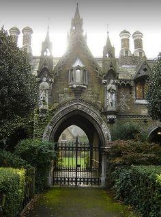 tassels:  Gothic gatehouse in England!