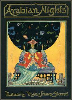 Penn Publishing 1928.  Illustrations by Virginia Sterrett (1900-1931)    Arabian Nights ~ Penn Publishing ~ 1928