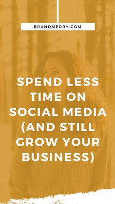 How to Spend Less Time on Social Media as an Entrepreneur in 2020 — Personal Branding Coach Sales And Marketing, Content Marketing, Social Media Marketing, Digital Marketing, Social Media Content, Social Media Tips, Business Tips, Online Business, Creative Business