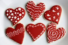 Simple Valentines Day Cookies