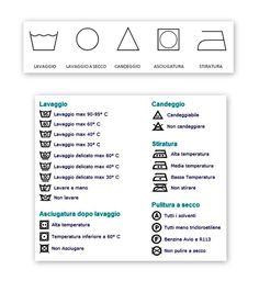simboli lavaggio capi - Cerca con Google