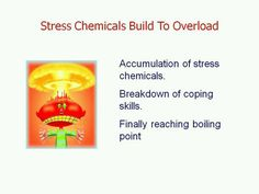 Stress chemicals build to meltdown