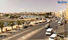 Live Webcam from Gżira, Strand - Malta.
