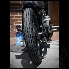 Vintage Firestone Deluxe Champion Tire - (3.50-18)
