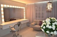 - make up room studio Beauty Room, Waiting Room Design Reception Areas, Studio Interior, Glam Room, Makeup Studio Decor, Salon Suites Decor, Home Decor, Home Salon, Home Decor Furniture