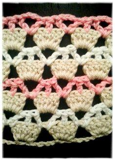 crochet cupcake afghan