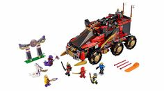 LEGO Ninjago Mobile Ninja Base (70750)