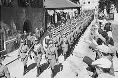 1938        Voters in both Germany and Austria give massive approval for Hitler's annexation of Austria