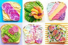 As torradas multicolor, tendencia en Instagram