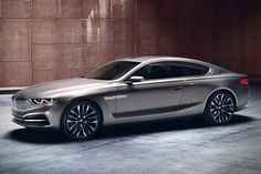 BMW and Italian car design firm Pininfarina have teamed up for the first time to produce the BMW Pininfarina Gran Lusso Coupé. The BMW Pininfarina Gran Bmw Serie 7, Bmw 7 Series, Bmw Concept, Bmw Autos, Auto Motor Sport, Sport Cars, Rolls Royce, Nova Bmw, Carros Bmw
