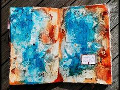 'Perfectly imperfect'... art journaling - YouTube