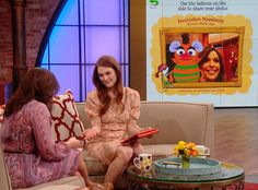 Julianne Moore has turned her childhood nickname of Freckleface Strawberry into a series of best-selling books, a musical and now a mobile app! Watch the video above to see Rachael play Freckleface Strawberrys Monster Maker Game and create her own monster! (Repeat show aired 3-18-13)