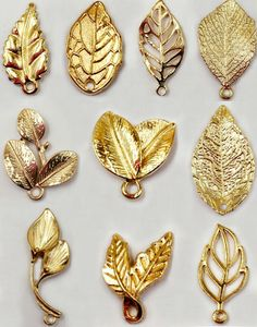 Hey, I found this really awesome Etsy listing at https://www.etsy.com/ie/listing/245648451/10-pcs-leaves-charms-hanging-delicate