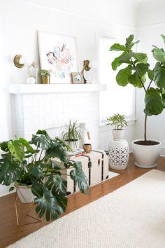 california bohemian living room. major #housegoals