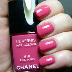 Chanel Reflets D'ete Collection Summer 2014: Swatches and Review | Pointless Cafe PINK TONIC