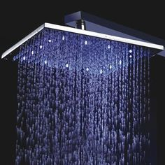 LED Light Showerhead - iVIP BlackBox