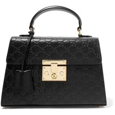 Gucci Padlock embossed leather tote (37,940 MXN) ❤ liked on Polyvore featuring bags, handbags, tote bags, gucci, black, tote purses, gucci purse, gucci tote, gucci handbags and leather tote handbags