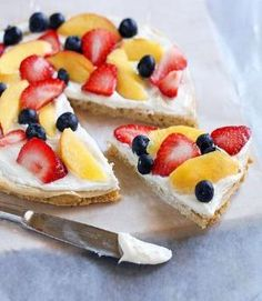 fruit pizza that tastes as good as it looks by lemai13