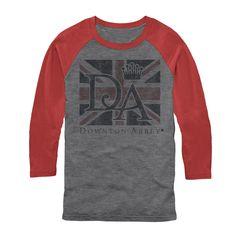 Downton Abbey Men's - Union Jack Logo Baseball Tee #downton #downtonabbey #pbs