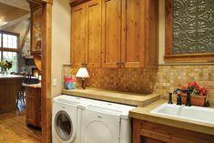 Organized Laundry Room - Plan 011S-0001 | houseplansandmore.com