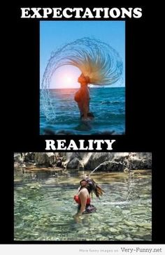 Hair expectations vs reality. See more on www.very-funny.net